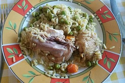 Hähnchen - Reis - Pfanne 2