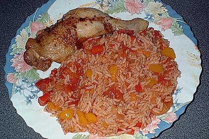 Hähnchen - Reis - Pfanne 5