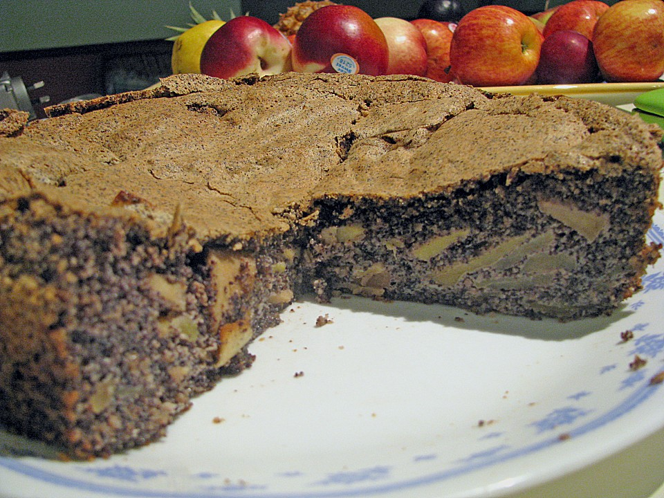Apfel Mohn Torte Von Senzanome Chefkoch De