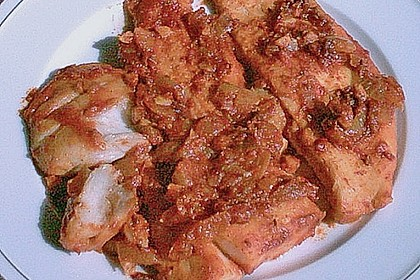 Curry - Bratfisch mit Koriander