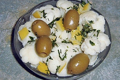 Armenischer Blumenkohlsalat 4