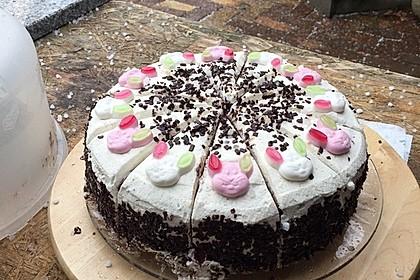 Österliche Kirsch - Mascarpone - Torte 3