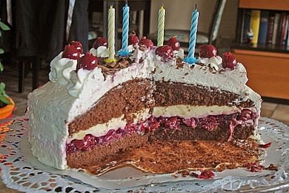 Österliche Kirsch - Mascarpone - Torte 4