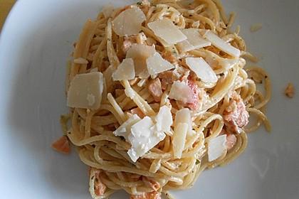 Lachsspaghetti 2