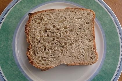 Schnelles Dinkel - Buchweizen - Brot 30