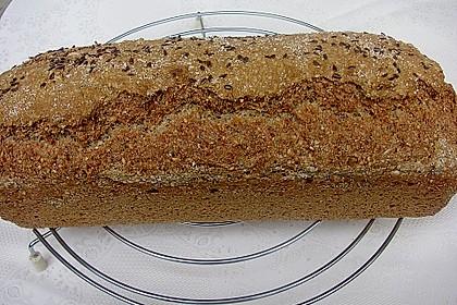 Schnelles Dinkel - Buchweizen - Brot 19