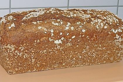 Schnelles Dinkel - Buchweizen - Brot 5