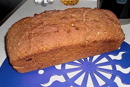 Schnelles Dinkel - Buchweizen - Brot 45