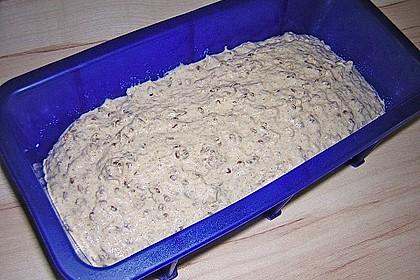 Schnelles Dinkel - Buchweizen - Brot 52