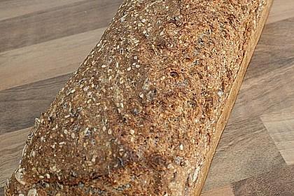 Schnelles Dinkel - Buchweizen - Brot 22