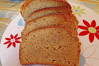 Schnelles Dinkel - Buchweizen - Brot