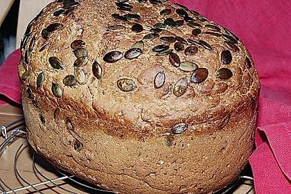 Schnelles Dinkel - Buchweizen - Brot 34