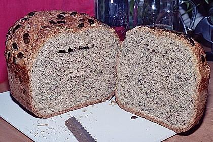 Schnelles Dinkel - Buchweizen - Brot 33