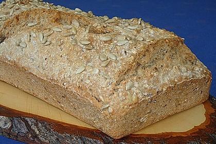 Schnelles Dinkel - Buchweizen - Brot 23