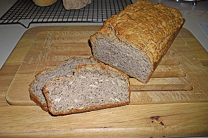 Schnelles Dinkel - Buchweizen - Brot 11