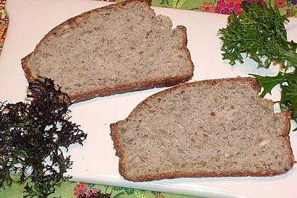 Schnelles Dinkel - Buchweizen - Brot 35