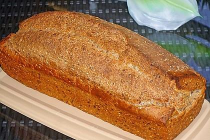 Schnelles Dinkel - Buchweizen - Brot 13