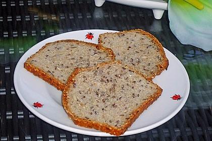 Schnelles Dinkel - Buchweizen - Brot 7