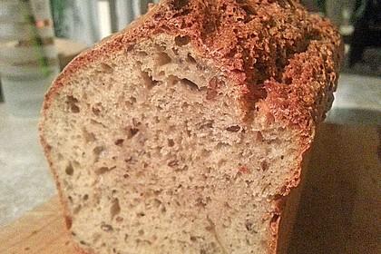 Schnelles Dinkel - Buchweizen - Brot 41