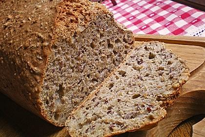 Schnelles Dinkel - Buchweizen - Brot 1