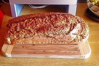 Schnelles Dinkel - Buchweizen - Brot 18