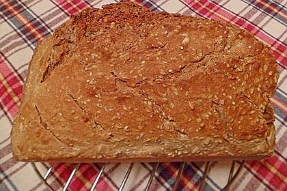 Schnelles Dinkel - Buchweizen - Brot 15