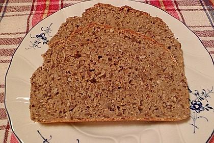Schnelles Dinkel - Buchweizen - Brot 27