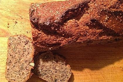 Schnelles Dinkel - Buchweizen - Brot 31