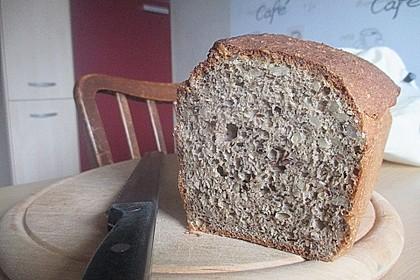 Schnelles Dinkel - Buchweizen - Brot 29