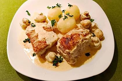 Dänischer Filetbraten mit Senfsauce 1