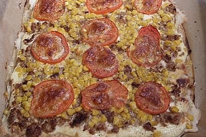 Hack - Blätterteig - Pizza 7