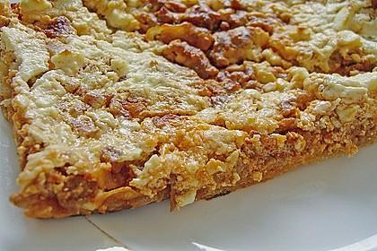 Hack - Blätterteig - Pizza 1