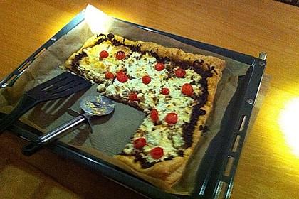 Hack - Blätterteig - Pizza 6