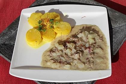 Kartoffeln in Rahmsauce 1