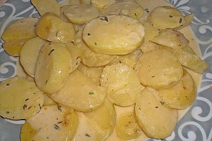 Kartoffeln in Rahmsauce 2