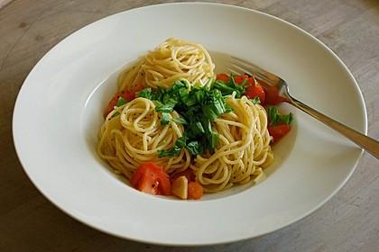 Knoblauchspaghetti II 8