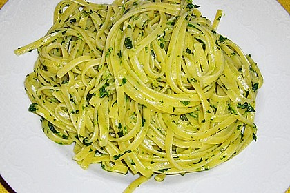 Knoblauchspaghetti II 7