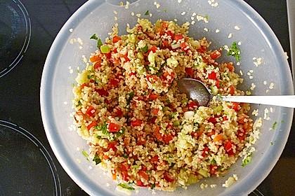 Tomaten - Bulgur - Salat (Bild)