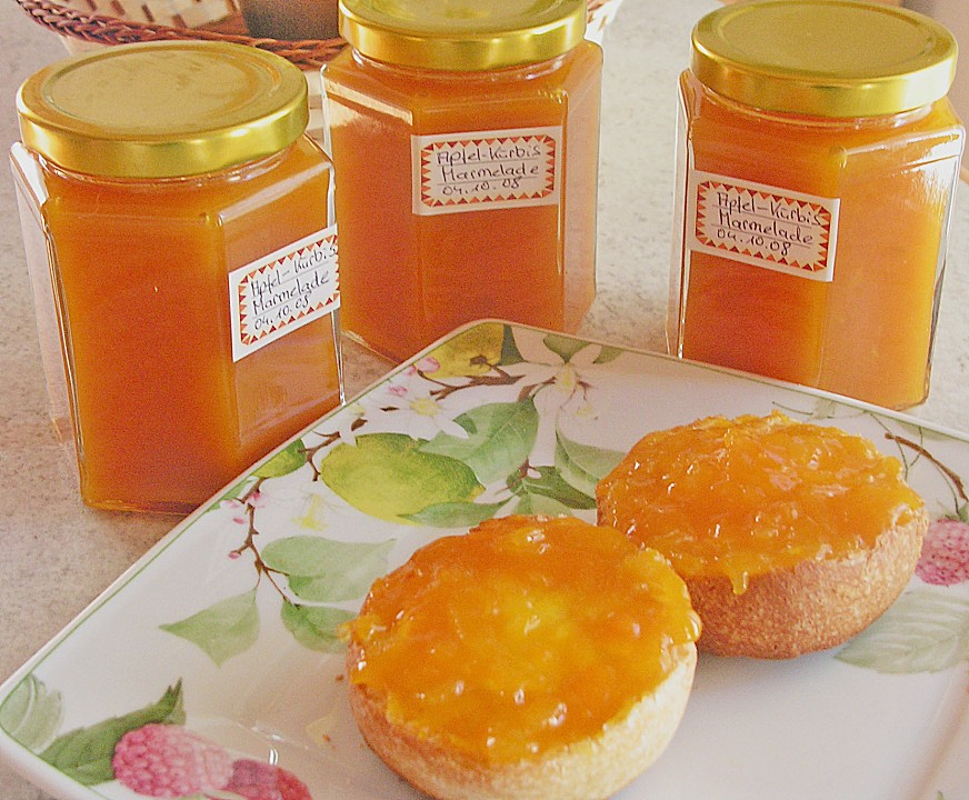 Apfel Kurbis Marmelade Von Eisibar Chefkoch De