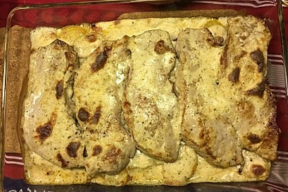 Bratkartoffelauflauf mit Schnitzel 11