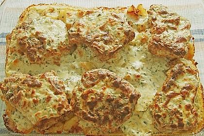 Bratkartoffelauflauf mit Schnitzel 34