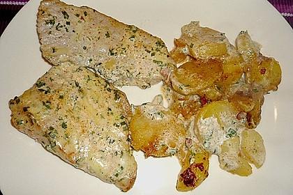 Bratkartoffelauflauf mit Schnitzel 29