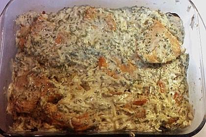 Bratkartoffelauflauf mit Schnitzel 59