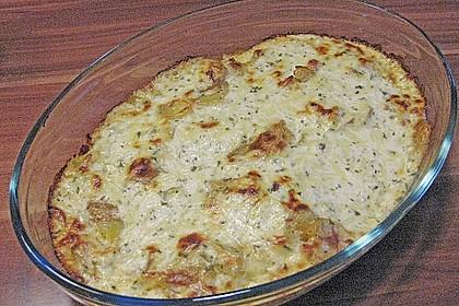 Bratkartoffelauflauf mit Schnitzel 57