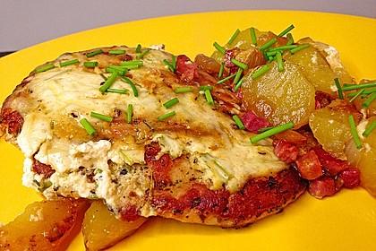 Bratkartoffelauflauf mit Schnitzel 3