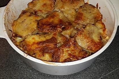 Bratkartoffelauflauf mit Schnitzel 48
