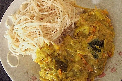 Kokos - Curry 1