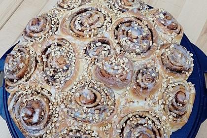 Zimtrollen-Kuchen 14