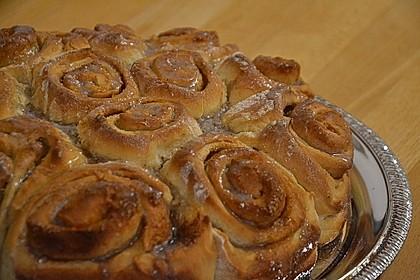 Zimtrollen-Kuchen (Bild)