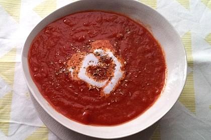 Schnelle Tomatensuppe 14
